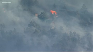 Evacuations ordered in Larimer County due to wildfire