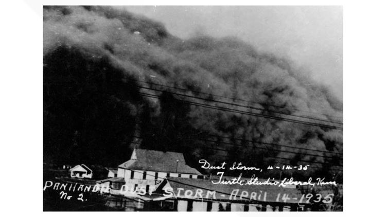 A cloud of dust swept through Baca County 86 years ago on a day known as 'Black Sunday'