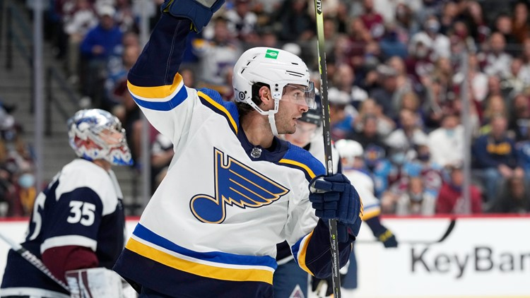 Blues hold off late comeback from depleted Avalanche