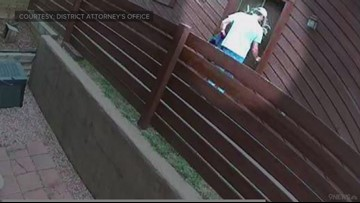 RAW: Surveillance photos show Patrick Frazee outside Kelsey Berreth's apartment the day of her murder