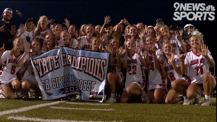 Colorado Academy girls lacrosse wins 6th straight 5A state title in dominant fashion
