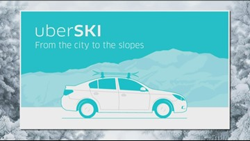 Uber's newest ski feature making it easier than ever to hit the slopes