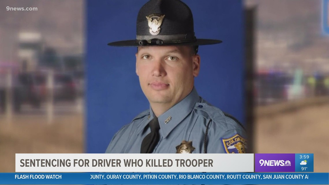 Driver convicted in 2016 death of state trooper to be sentenced Friday