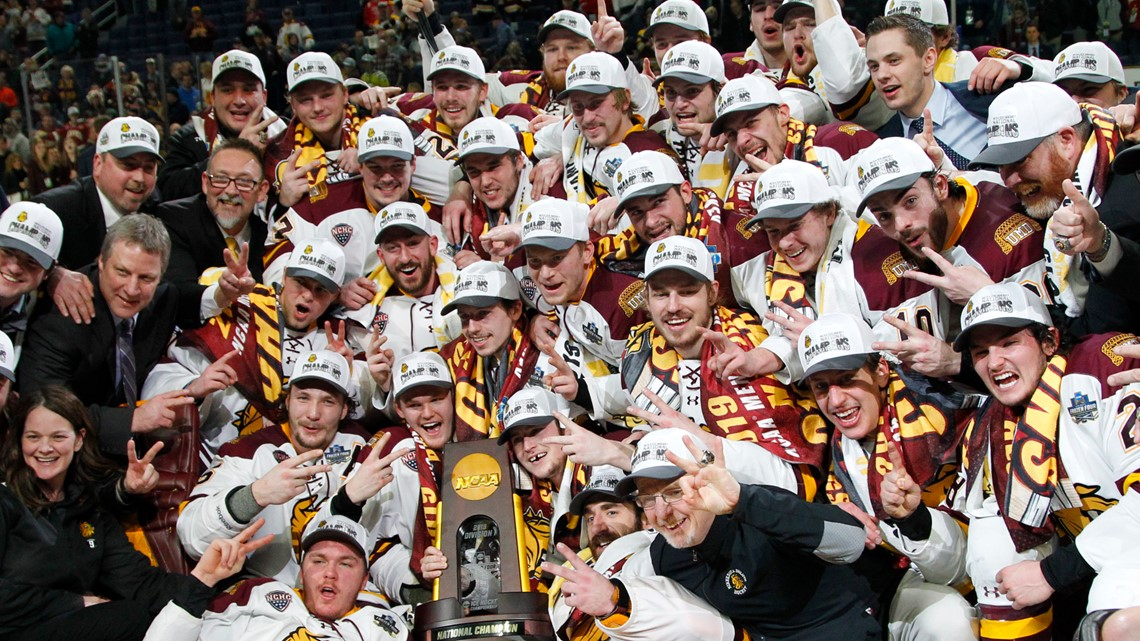 Minnesota Duluth wins 2nd straight title, beating UMass 3-0