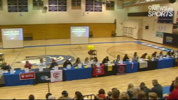 Grandview boasts 31 athletes on Signing Day