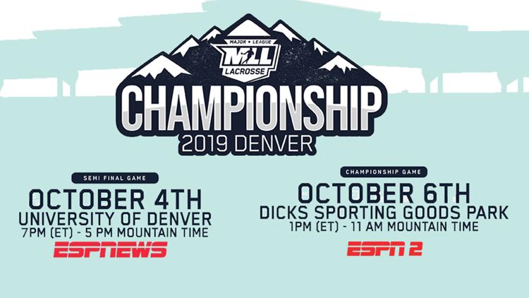Major League Lacrosse 2019 MLL Championship