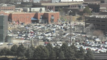 2 officers struck by car during traffic stop in Denver