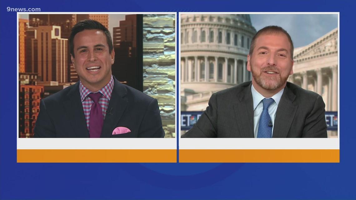 Meet the Press cross talk with Chuck Todd
