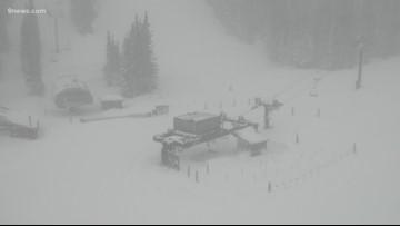 RAW: Strong winds close Loveland Ski Area