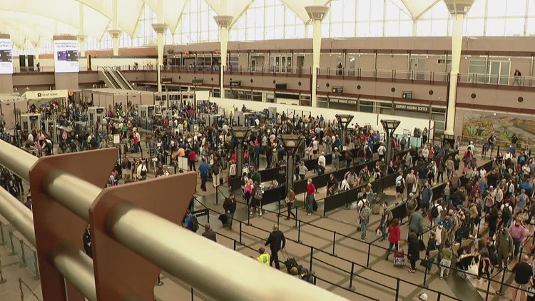Southwest customers dealing with flight cancellations at DIA and across the country