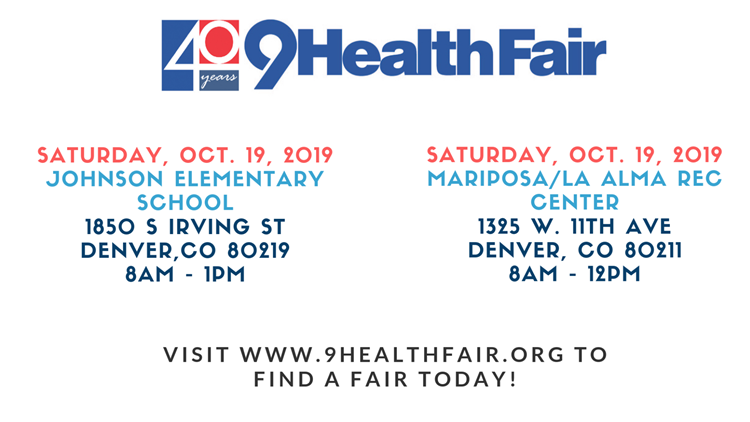 9Health Fair Oct 19