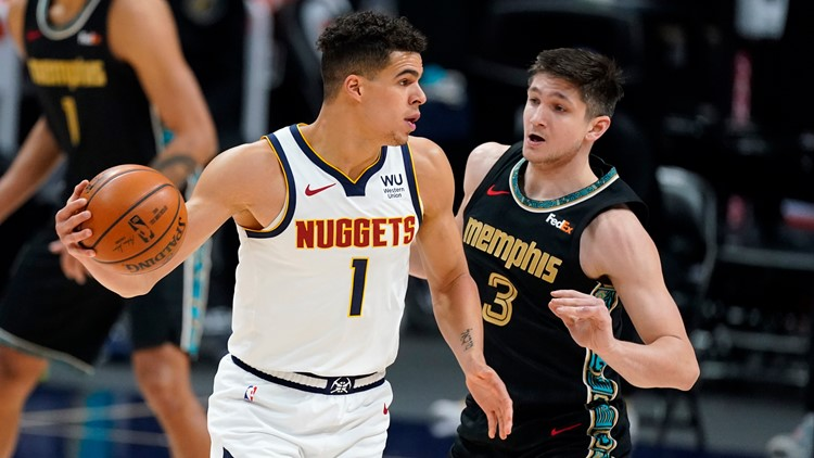 Porter scores 31 points, Nuggets knock off Grizzlies 120-96