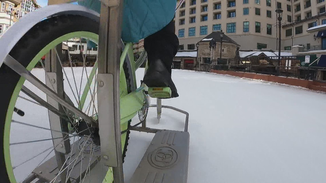 You can now rent ice bikes in Beaver Creek Village