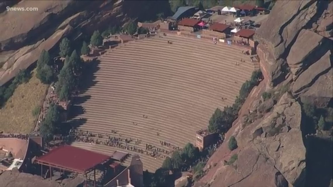Sky9: Red Rocks Amphitheatre stair climb honors firefighters who lost their  lives on 9/11