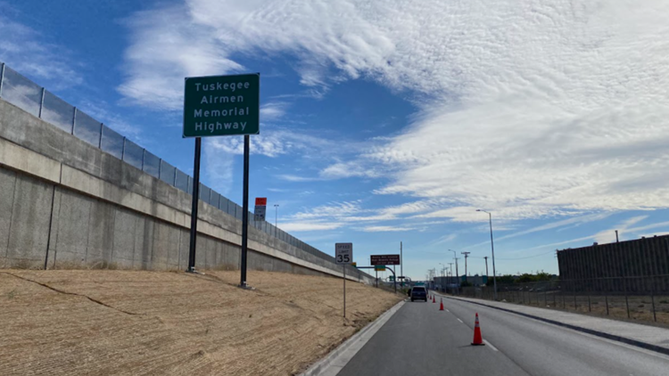 Tuskegee Airmen honored with Central 70 Project signage
