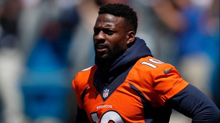 Denver Broncos wide receiver Emmanuel Sanders