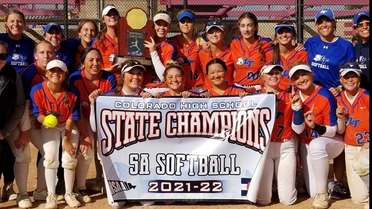 Legend softball shuts out Columbine to capture 5A softball championship