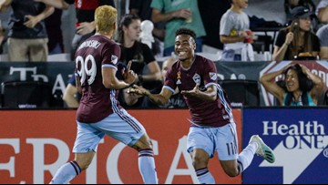 Andre Shinyashiki scores twice as Rapids beat Sounders 2-0