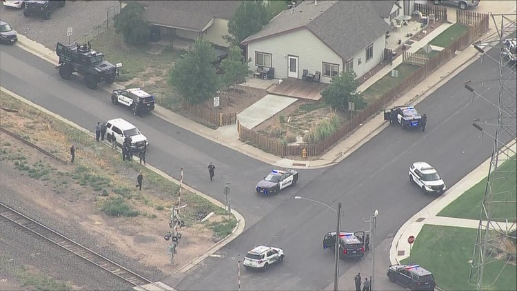 RAW: Police search home in Commerce City after shooting