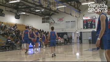 Columbine boys basketball holds off Legend