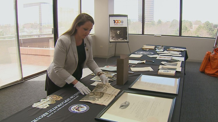 Some World War I history was packed up here in Colorado, and is now making its way to DC to be on display.