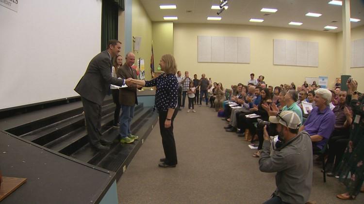 Carla gets certificate of citizenship