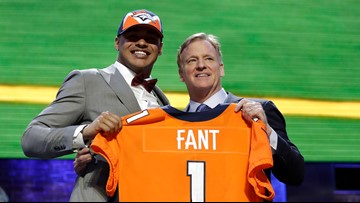 Fant feeling 'super' about joining the Broncos