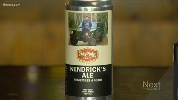 Denver brewery unveils beer in honor of Kendrick Castillo