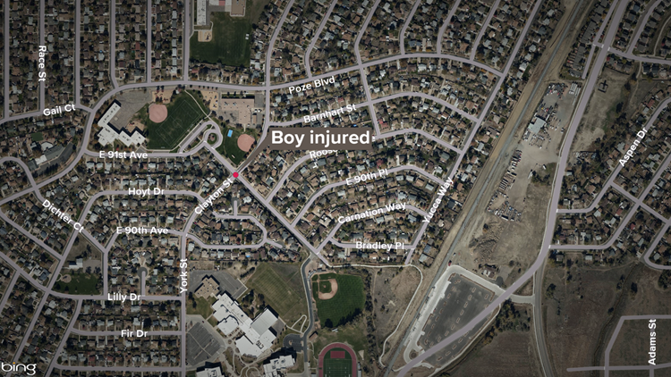 thornton boy hit by car driver cited 9news com thornton boy hit by car driver cited