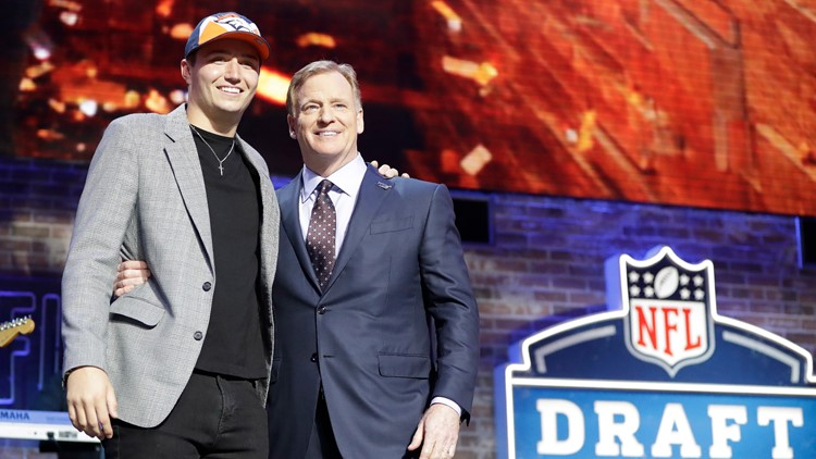 NFL Draft Football Drew Lock