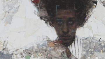 Black History Month: Painting helps this artist express himself