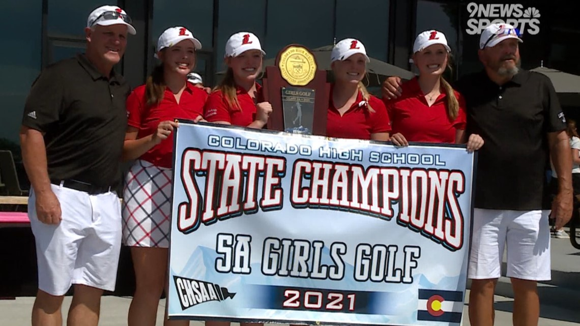 Lehigh leads Loveland to 5A girls golf state championship