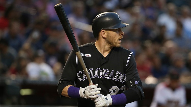 Rockies put Story on 10-day injured list with thumb sprain