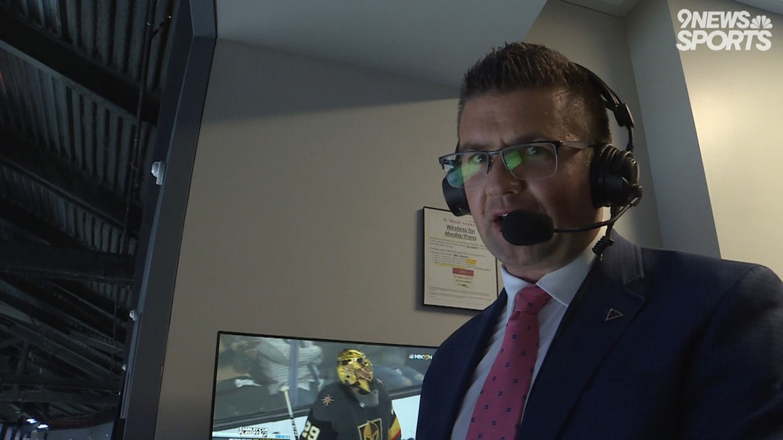 Conor McGahey enjoying 'dream job' calling Avalanche games