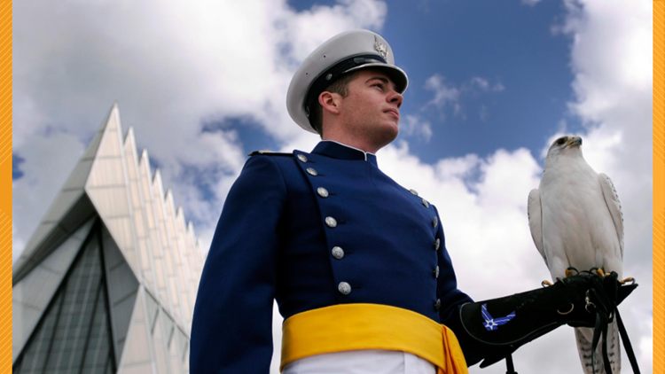 Air Force Academy Mascot Falcon Recovering After Injury