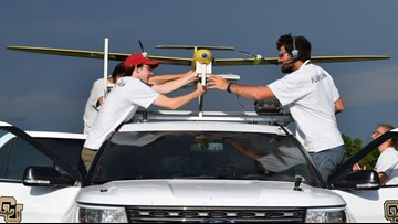 CU engineers chase supercells with drones