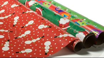 How to recycle wrapping paper in Colorado