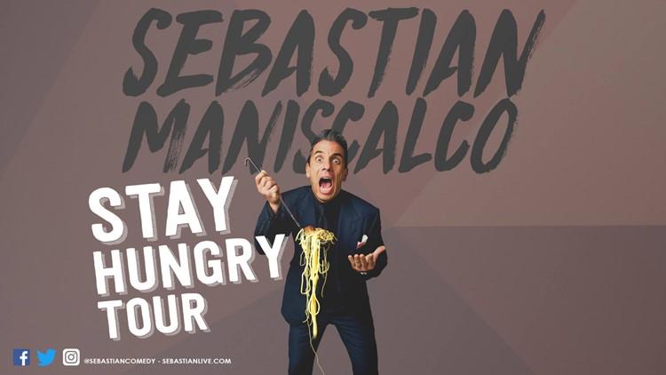 Sebastian Maniscalco Stay Hungry Tour
