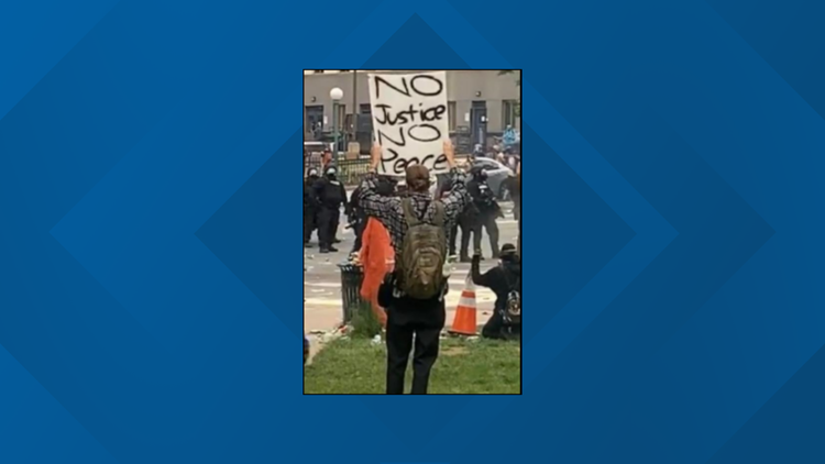 Denver protester files lawsuit claiming he was blinded by police use of 'less-lethal' round during George Floyd protests