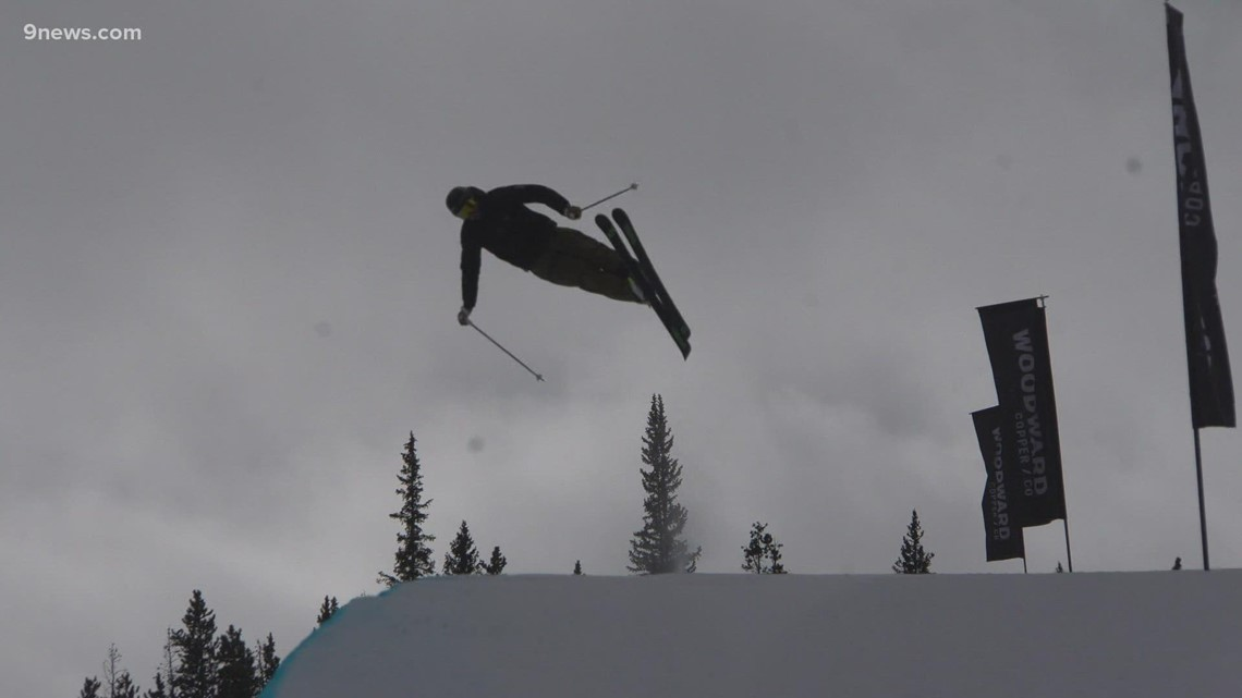U.S. Ski Team racers training at Copper Mountain for upcoming Winter Olympics