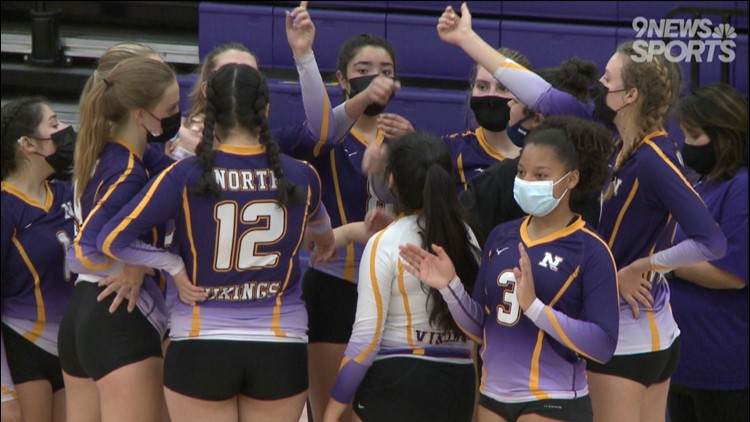 Denver North volleyball sweeps past Smoky Hill