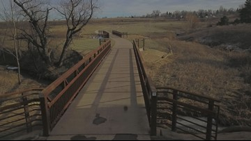 Your moment of zen: A drone tour of the Fossil Creek Trail in Fort Collins