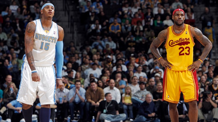 Now on his sixth NBA team, Carmelo Anthony teams up with LeBron James and the Lakers