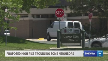Residents divided over possible 16-story residential building in Sloan's Lake