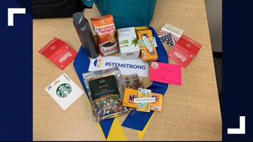 STEM students send thank yous to sheriff's office after school shooting
