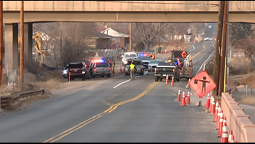 Traffic-directing construction flagger hit by SUV that failed to stop: CSP