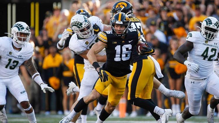 CSU football falls short in upset bid at No. 5 Iowa