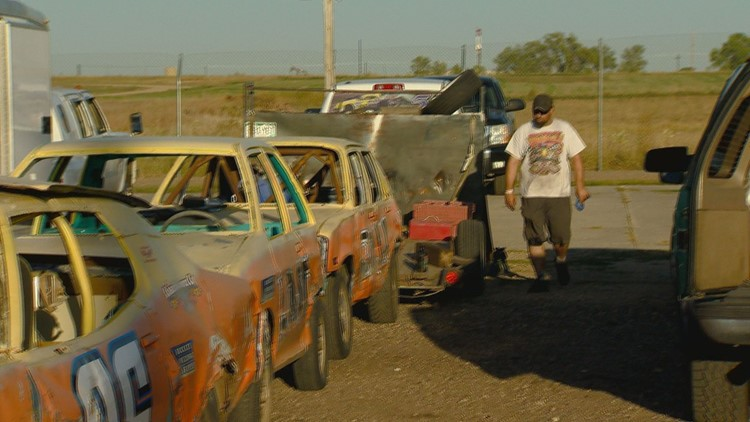 Train race cars