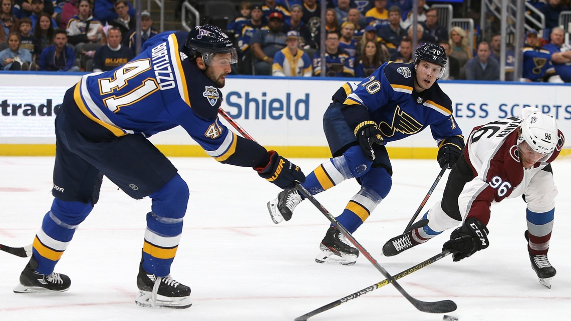 Avalanche suffer first regulation loss, fall to Blues
