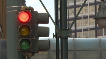 Denver changes timing on traffic signals downtown